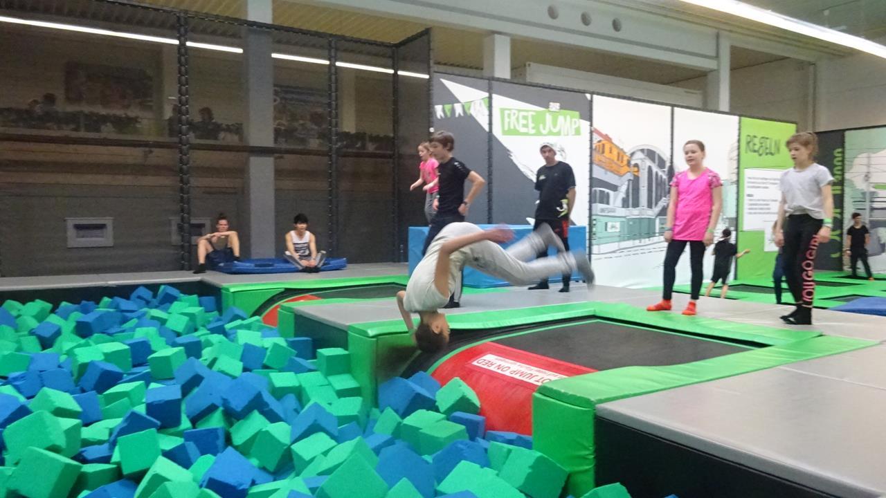 Ausflug ins Jump - Foto